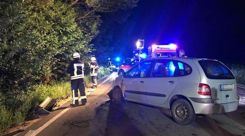 Schwerer Verkehrsunfall B471