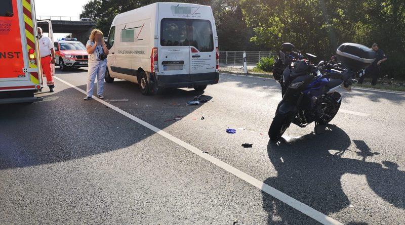 Verkehrsunfall – Motorrad B471
