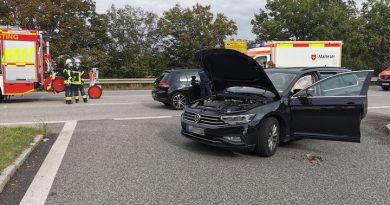 Verkehrsunfall Staatsstraße 2345