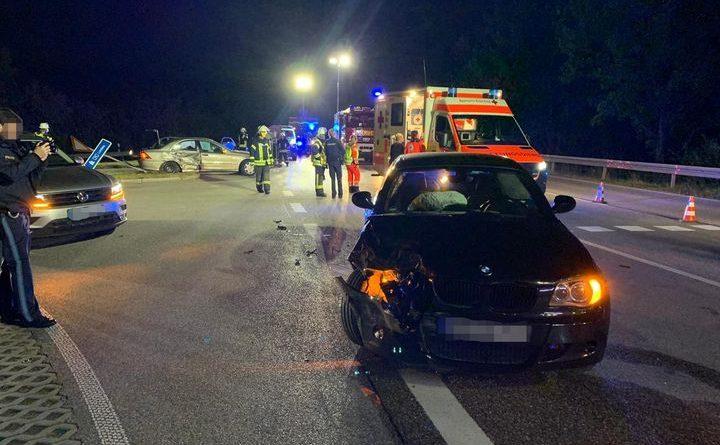 Erneuter Verkehrsunfall an Estinger Unfallschwerpunkt.